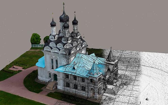 Создание 3D модели объекта
