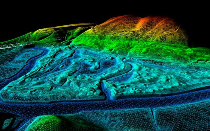Создание цифровых моделей местности