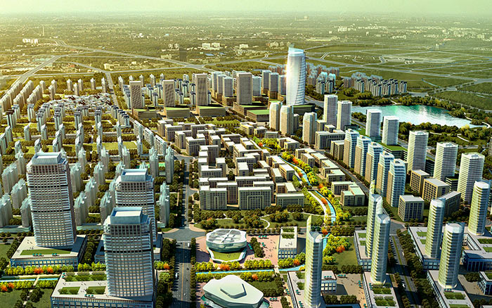 Создание цифровой модели города