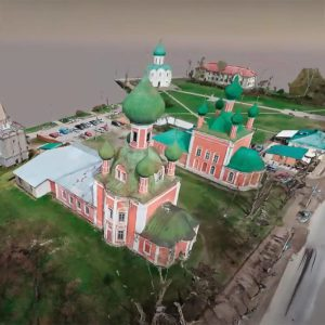 Создание 3D модели Церкви Петра Митрополита в г. Переславль-Залесский из фотографий
